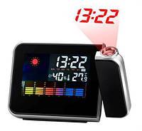 Проекционные часы-будильник Model:8190, фото 1