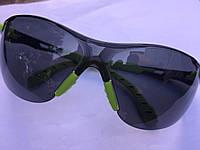 3М очки спортивные для экстремального отдыха, линзы синие, чехол+ поролон для герметичности