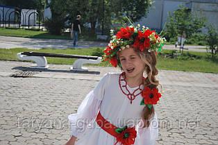 Костюм Украиночка. Ручная работа. 6-7 лет.
