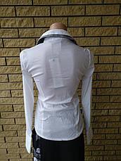 Рубашка женская двойка стрейчевая LADY ELITE, фото 3