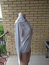 Рубашка- бодик женская стрейчевая LADY ELITE, фото 2