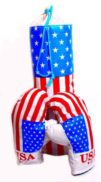 Набір для боксу середній USA ФОП Данко Тойз