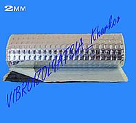 """Виброизоляция """"стандарт"""" 2мм в рулоне 10мп 330мм Украина, фото 1"""