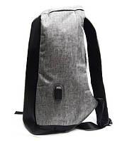 Городской рюкзак со скрытой молнией и выходом USB