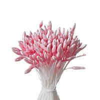 Тычинки двухсторонние Розовые 55х1мм.(код 03352)