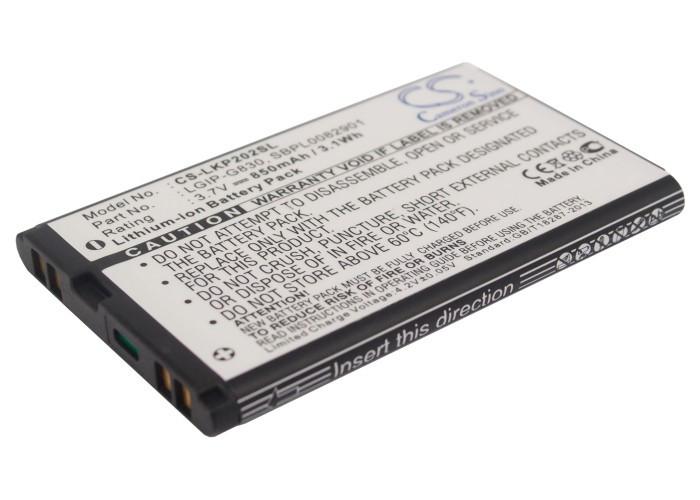 Аккумулятор для LG KP200 850 mAh