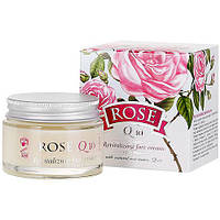 Восстанавливающий крем для лица с маслом розы Болгарская Роза Rose Q10 50 мл
