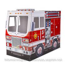 Дитячий картонний будиночок Пожежна машина ТМ Melissa&Doug