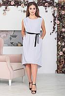Светло-серое платье Дайона, фото 1
