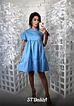 Женское хлопковое платье свободного кроя (3 цвета), фото 2
