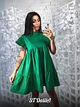 Женское хлопковое платье свободного кроя (3 цвета), фото 3