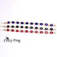 Красивые браслеты с камнями (3 цвета)