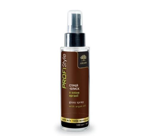 Спрей-блеск для сухих и поврежденных волос З ОЛІЄЮ АРГАНІЇ PROFIStyle