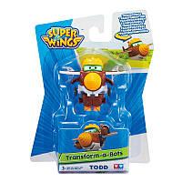 "Брендовая игрушка трансформер Todd ""Супер крылья"" (Super wings)"
