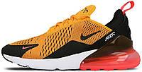 Женские кроссовки Nike Air Max 270 (Найк Аир Макс 270) оранжевые
