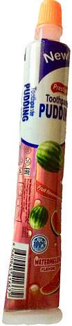 Фруктовое желе Toothpaste Pudding арбуз  Prestige , 60 гр, фото 2