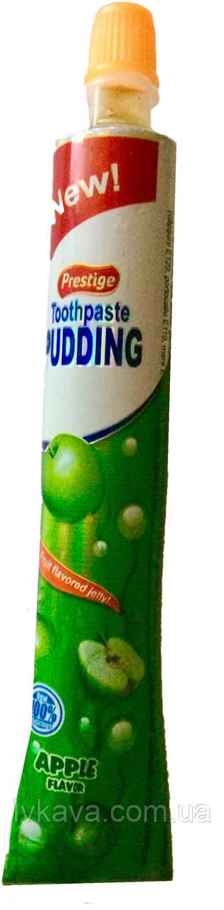 Фруктовое желе Toothpaste Pudding яблоко  Prestige , 60 гр