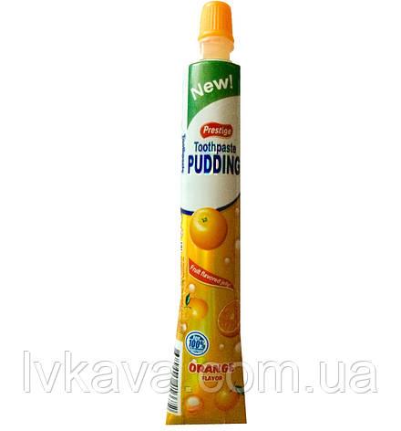 Фруктовое желе Toothpaste Pudding апельсин  Prestige , 60 гр, фото 2