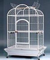 Клетка вольер для крупных попугаев A24 ™️ Золотая клетка (110*80,2*185 cm)