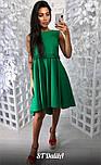 Женское хлопковое платье свободного кроя (4 цвета), фото 2
