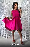 Женское хлопковое платье свободного кроя (4 цвета), фото 4