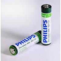 Батарейка солевая PHILIPS R-3 ААА