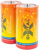 Батарейка солевая X-digital R-20 D