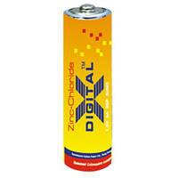 Батарейка солевая X-digital R-03 AAA