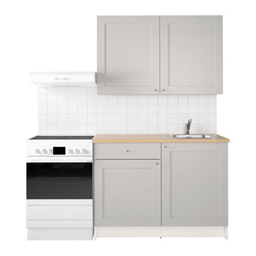 Ikea Knoxhult кухня серый 120x61x220 см 99180436s99180436