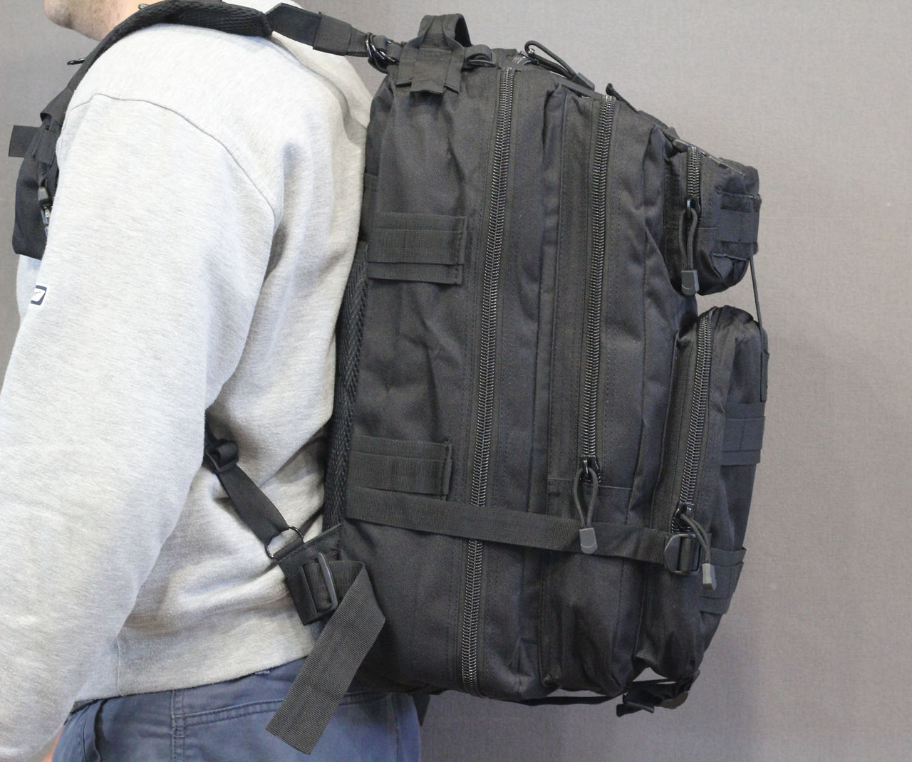 Тактический (городской) рюкзак Oxford 600D с системой M.O.L.L.E 40 л.