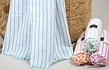 Полотенце-пештемаль пляжное Linea 90х170 бирюзовый Barine, фото 2