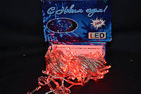 Светодиодная гирлянда на 100 LED красная