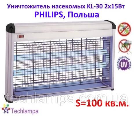 Ловушка для насекомых KL-30 2х15Вт Philips, Польша