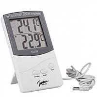 Цифровой термометр ТА338 (два датчика внутри/снаружи)