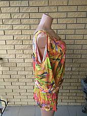 Платье летнее  стрейчевое брендовое  ZEAN, фото 2
