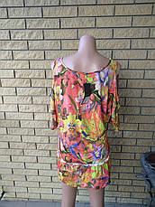 Платье летнее  стрейчевое брендовое  ZEAN, фото 3