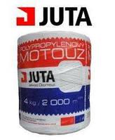 Нитка шпагат для тюкования сена JUTA TWINE Юта (Чехия) бухта 4 кг