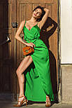 Женское летнее шелковое платье (4 цвета), фото 2