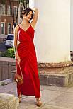 Женское летнее шелковое платье (4 цвета), фото 4