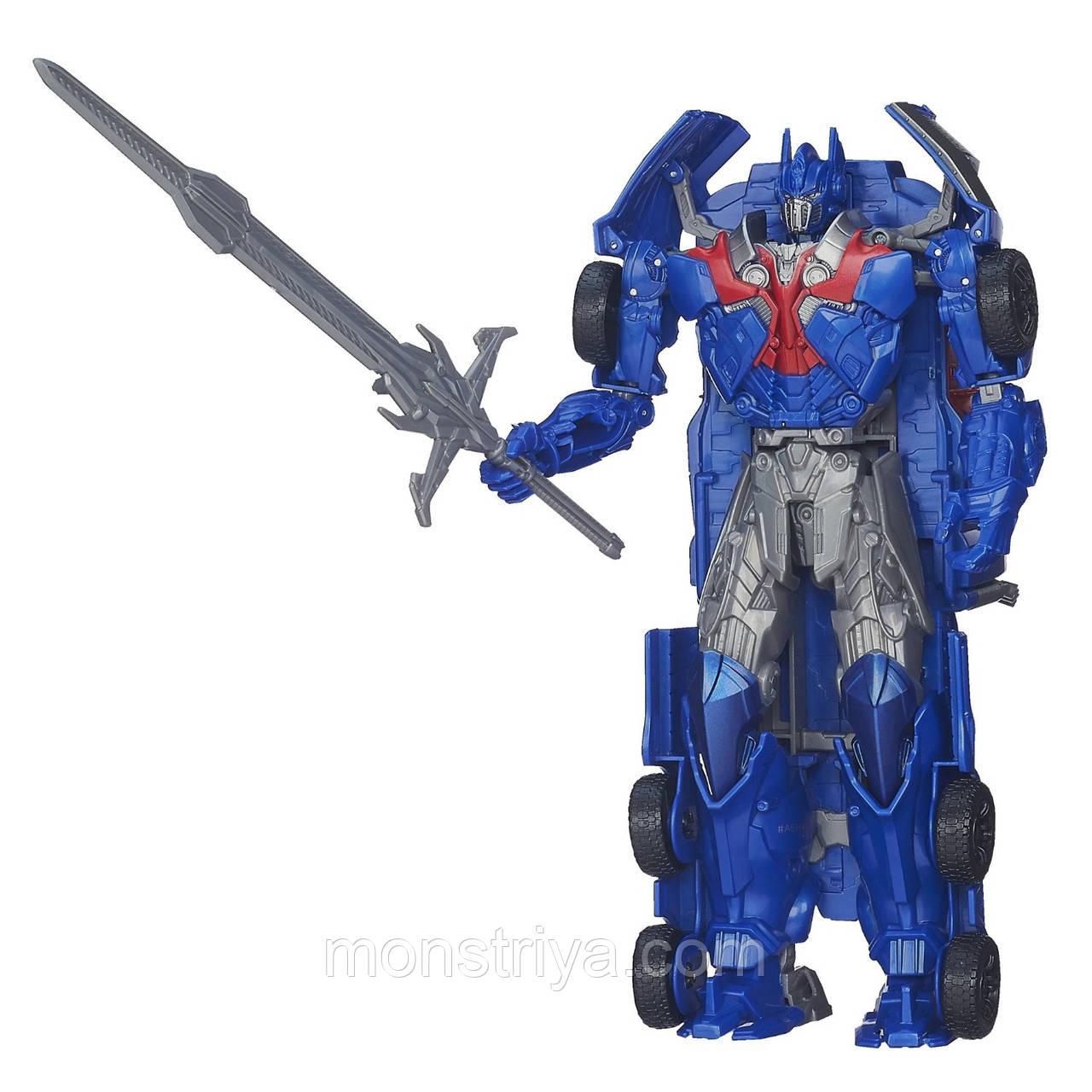 Робот Трансформер 4 Transformers: Age of Extinction Flip and Change Вращай и меняй !Optimus Prime, фото 1