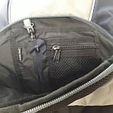 Городской надежный эрго рюкзак 25 л Onepolar W1674 серо-синий , фото 8