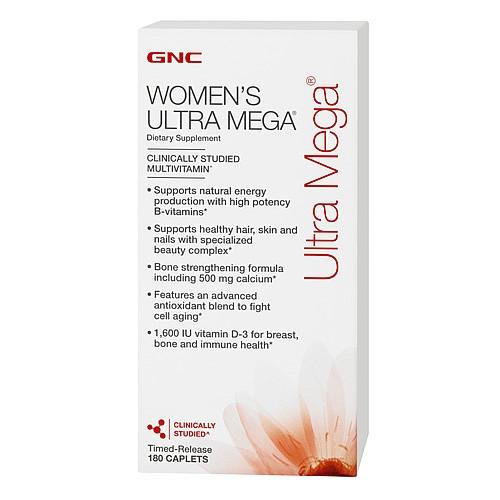 GNC Women's Ultra Mega 180 caplets