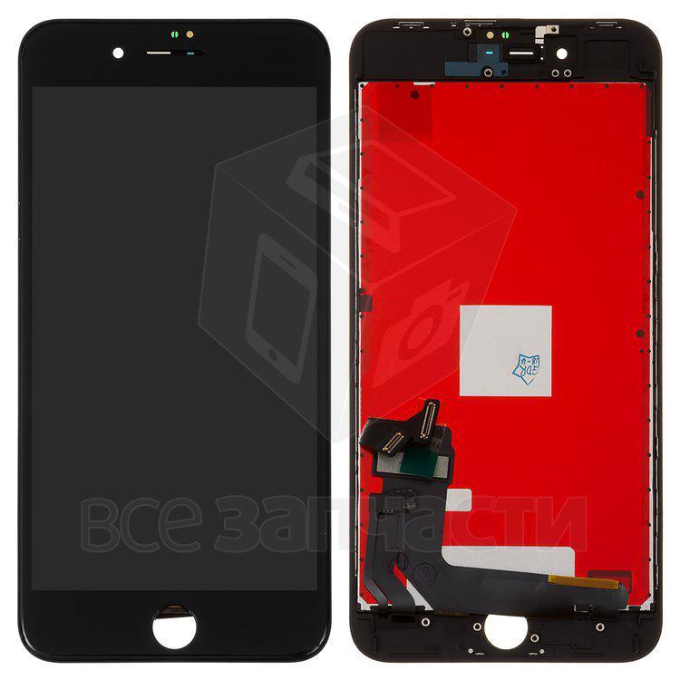 Дисплейный модуль для мобильного телефона  iPhone 8 Plus, черный Сopy