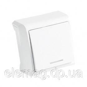 VIKO VERA Выключатель  с подсветкой белый