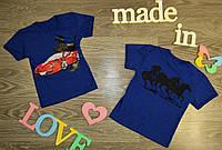 Детская футболка на мальчика Порше,3 цвета на рост от до