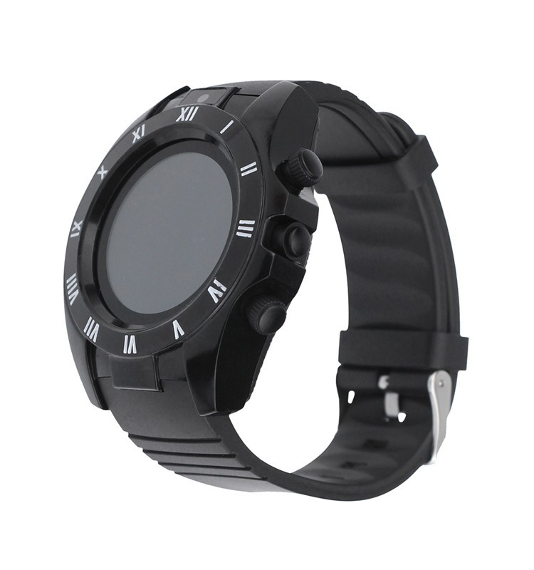 """Умные часы SUNROZ S5 смарт-часы с GPS 1,54"""""""" 380 mAh Черный (SUN0930)"""