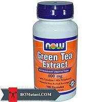 NOW Green Tea Extract 100 капсул