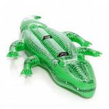 Двухместный надувной плотик крокодил, фото 2