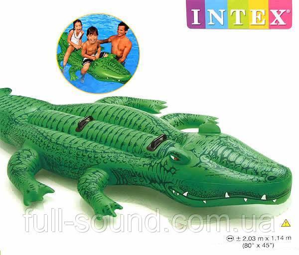 Двухместный надувной плотик крокодил