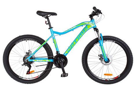 Велосипед 26-102 Optimabikes ALPINA AM 14G DD(16) blue-green